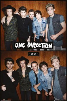 Juliste One Direction - Four