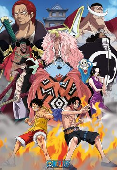 Juliste One Piece - Marine Ford