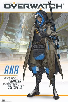 Juliste  Overwatch - Ana