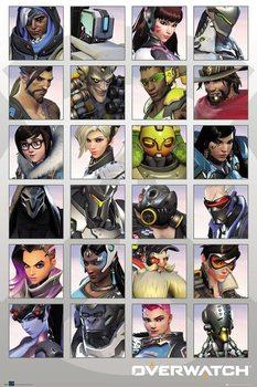 Juliste  Overwatch - Character Portraits