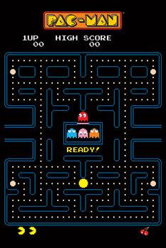 Juliste Pac-Man - Maze