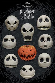 Juliste Painajainen ennen joulua - Many Faces of Jack