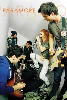 Juliste Paramore - live