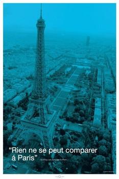 Juliste Pariisi - city quote