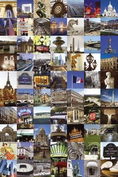 Juliste Pariisi - collage