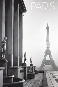Juliste Pariisi - Eiffel tower