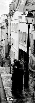 Juliste Pariisi - le baiser