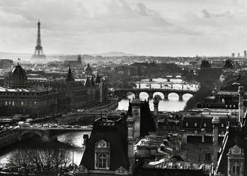 Juliste Pariisi view