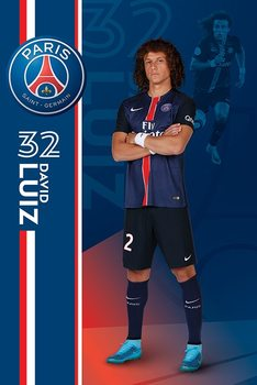 Juliste Paris Saint-Germain FC - David Luiz