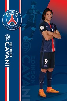 Juliste Paris Saint-Germain FC - Edinson Carvani