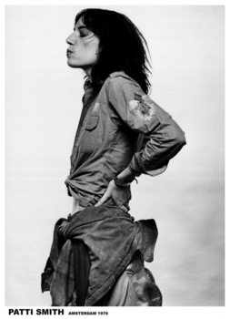 Juliste  Patti Smith - Amsterdam '76