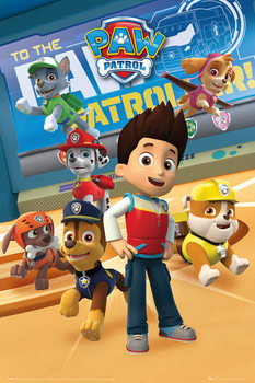 Juliste Paw Patrol - Characters