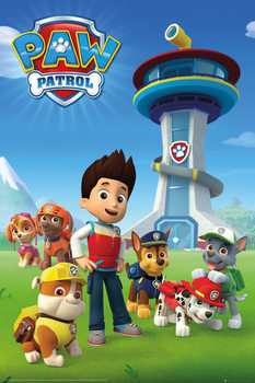 Juliste Paw Patrol - Team