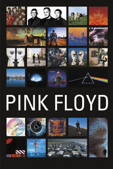 Juliste Pink Floyd - Collage