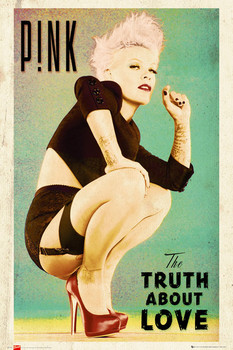 Juliste  Pink - truth about love