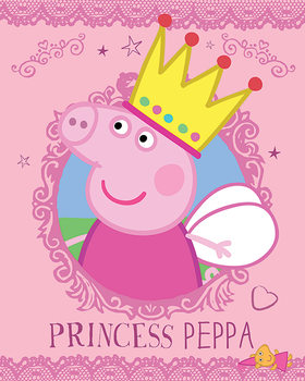 Juliste  Pipsa Possu - Princess Peppa