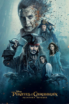 Juliste  Pirates of the Caribbean - Burning