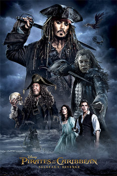 Juliste  Pirates of the Caribbean - Darkness