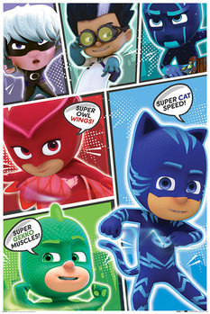 Juliste  PJ Masks - Comic Strip