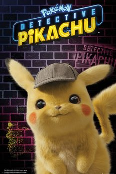 Juliste  Pokemon: Detective Pikachu