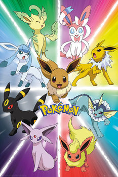 Juliste  Pokemon - Eevee Evolution