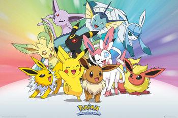 Juliste Pokemon - Eevee