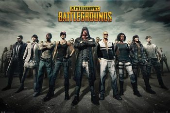 Juliste  PUBG - Group