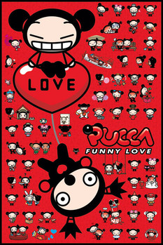 Juliste Pucca - collage