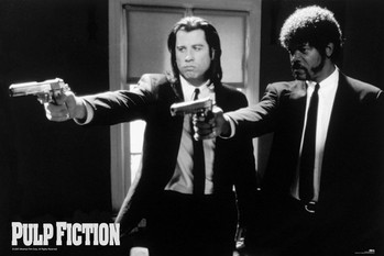 Juliste Pulp fiction - guns