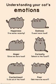 Juliste  Pusheen - Cats Emotions