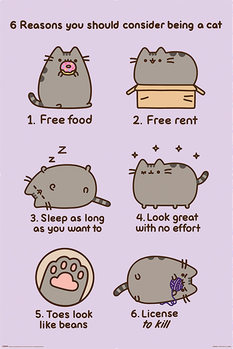 Juliste Pusheen - Reasons to be a Cat