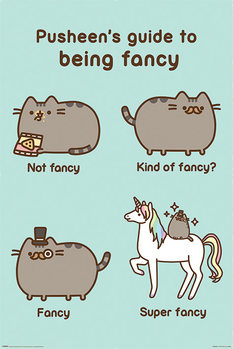 Juliste Pusheen - Super Fancy