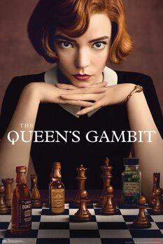 Juliste Queens Gambit - Key Art
