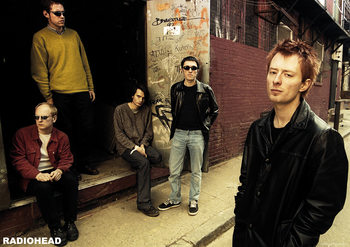 Juliste Radiohead - Back Alley 2005