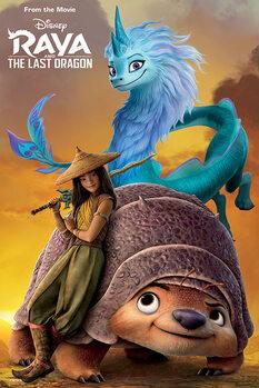 Juliste Raya and the Last Dragon - Sunset