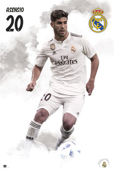 Juliste Real Madrid 2018/2019 - Asensio
