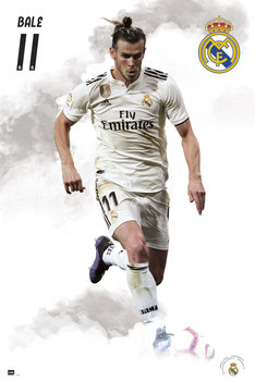 Juliste Real Madrid 2018/2019 - Bale