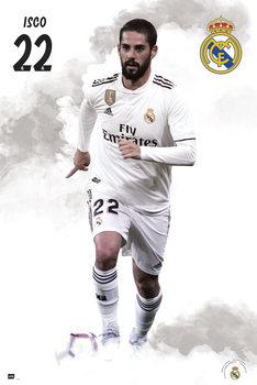Juliste  Real Madrid 2018/2019 - Isco