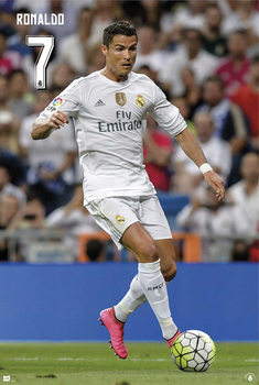 Juliste Real Madrid - Cristiano Ronaldo CR7 15/16