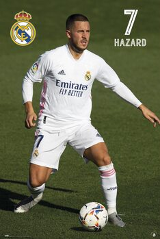 Juliste Real Madrid - Hazard 2020/2021