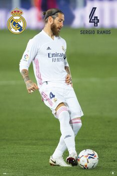 Juliste Real Madrid - Sergio Ramos 2020/2021