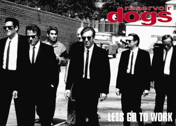 Juliste  Reservoir dogs