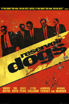 Juliste Reservoir Dogs - Walk