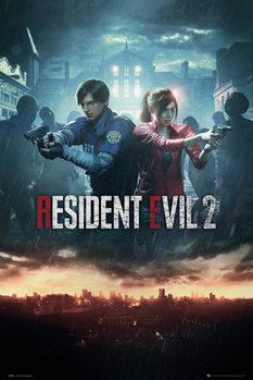 Juliste  Resident Evil 2 - City Key Art