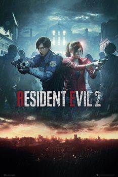 Juliste  Resident Evil 2 - City Key Art