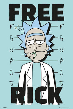 Juliste  Rick And Morty - Free Rick