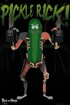 Juliste  Rick and Morty - Pickle Rick