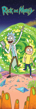 Juliste Rick and Morty - Portal