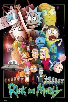 Juliste  Rick and Morty - Wars