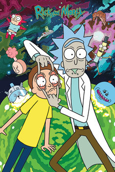 Juliste Rick and Morty - Watch